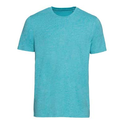 Herren-T-Shirt in Melange-Optik