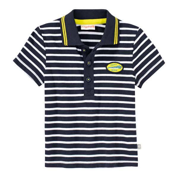 Baby-Jungen-Polo-T-Shirt mit Streifenmuster