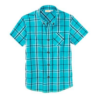 Jungen-Hemd mit Karomuster