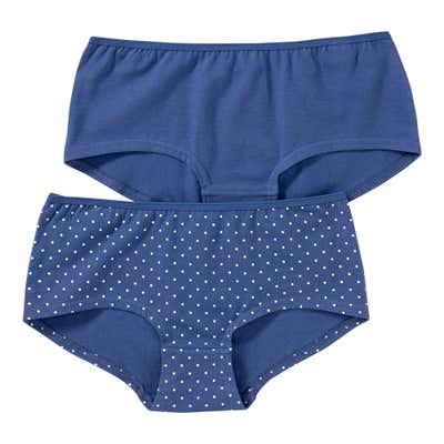 Mädchen-Panty mit Punkte-Muster, 2er Pack