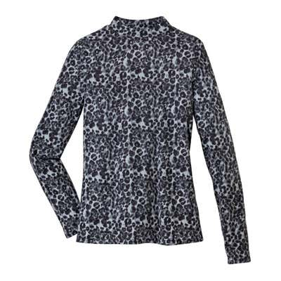 Damen-Shirt mit Leo-Muster