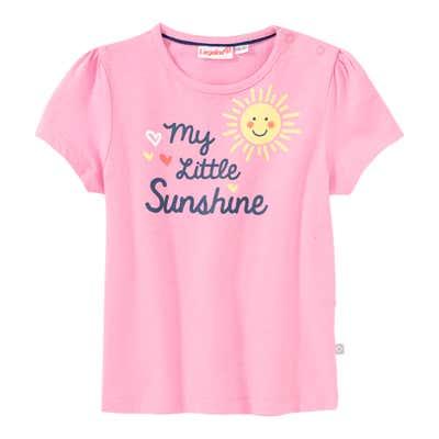 Baby-Mädchen-T-Shirt mit Sonnen-Frontaufdruck