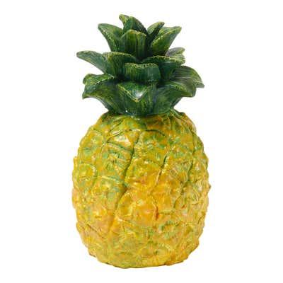 Deko-Ananas in verschiedenen Farben, ca. 8x14cm