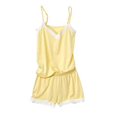 Damen-Schlafanzug mit aufregenden Spitzendetails 2-teilig