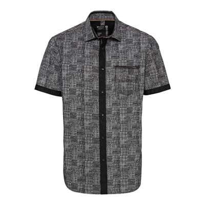 Herren-Hemd mit Kontrast-Design
