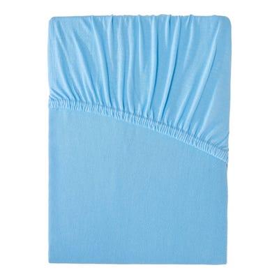 Jersey-Spannbetttuch in Übergröße: ca. 180-200x200cm
