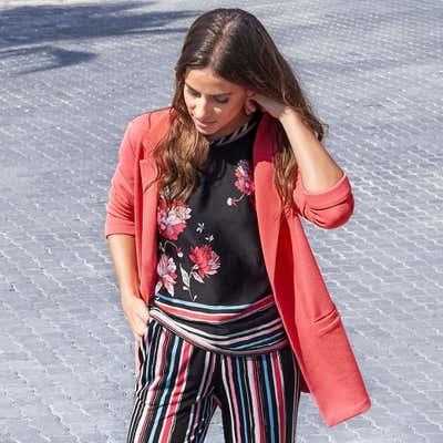 Damen-Blazer mit tollem Struktureffekt