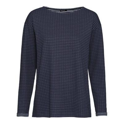 Damen-Shirt mit Ärmelumschlag
