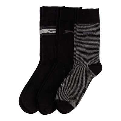 Slazenger Herren-Socken mit Logo, 3er Pack