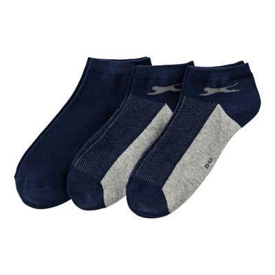 Slazenger Herren-Sneaker-Socken, 3er Pack