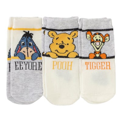 Winnie Pooh Baby-Socken, 3er Pack