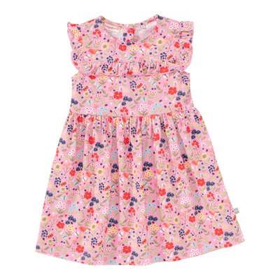 Baby-Mädchen-Kleid mit Blümchen-Muster