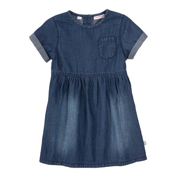 Baby-Mädchen-Jeanskleid