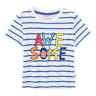 Baby-Jungen-T-Shirt mit tollem Frontaufdruck