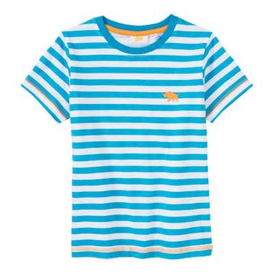 Jungen-T-Shirt mit Streifenmuster