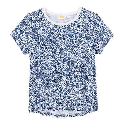 Mädchen-T-Shirt mit fröhlichem Muster
