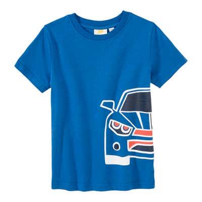 Jungen-T-Shirt mit Auto-Aufdruck