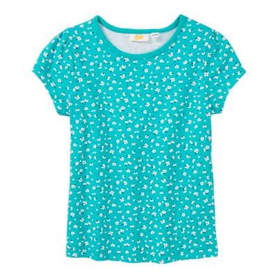 Mädchen-T-Shirt mit Blümchen-Muster