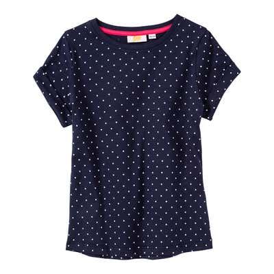 Mädchen-T-Shirt mit Punkte-Muster