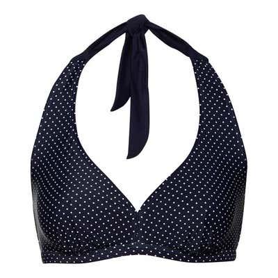 Damen-Bikini-Oberteil mit Punkte-Muster