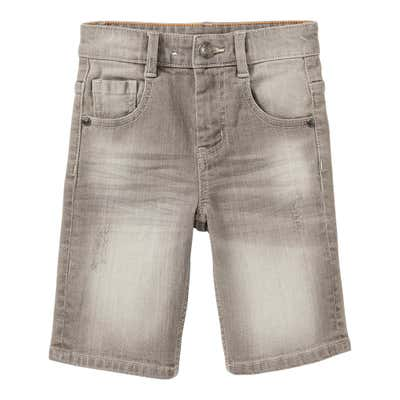 Jungen-Jeans-Bermudas im 5-Pocket-Style
