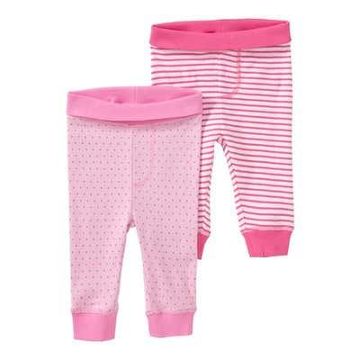 Baby-Mädchen-Hosen, 2er Pack
