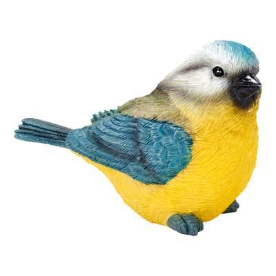 Deko-Vogel in unterschiedlichen Ausführungen, ca. 14x6x9cm