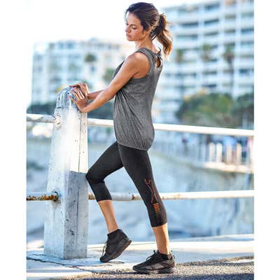 Damen-Fitnesshose mit innovativem Design