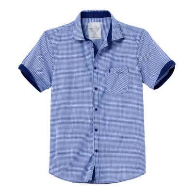 Herren-Hemd mit trendigem Ärmelaufschlag