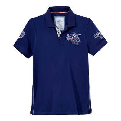 Herren-Poloshirt mit angesagtem Aufdruck
