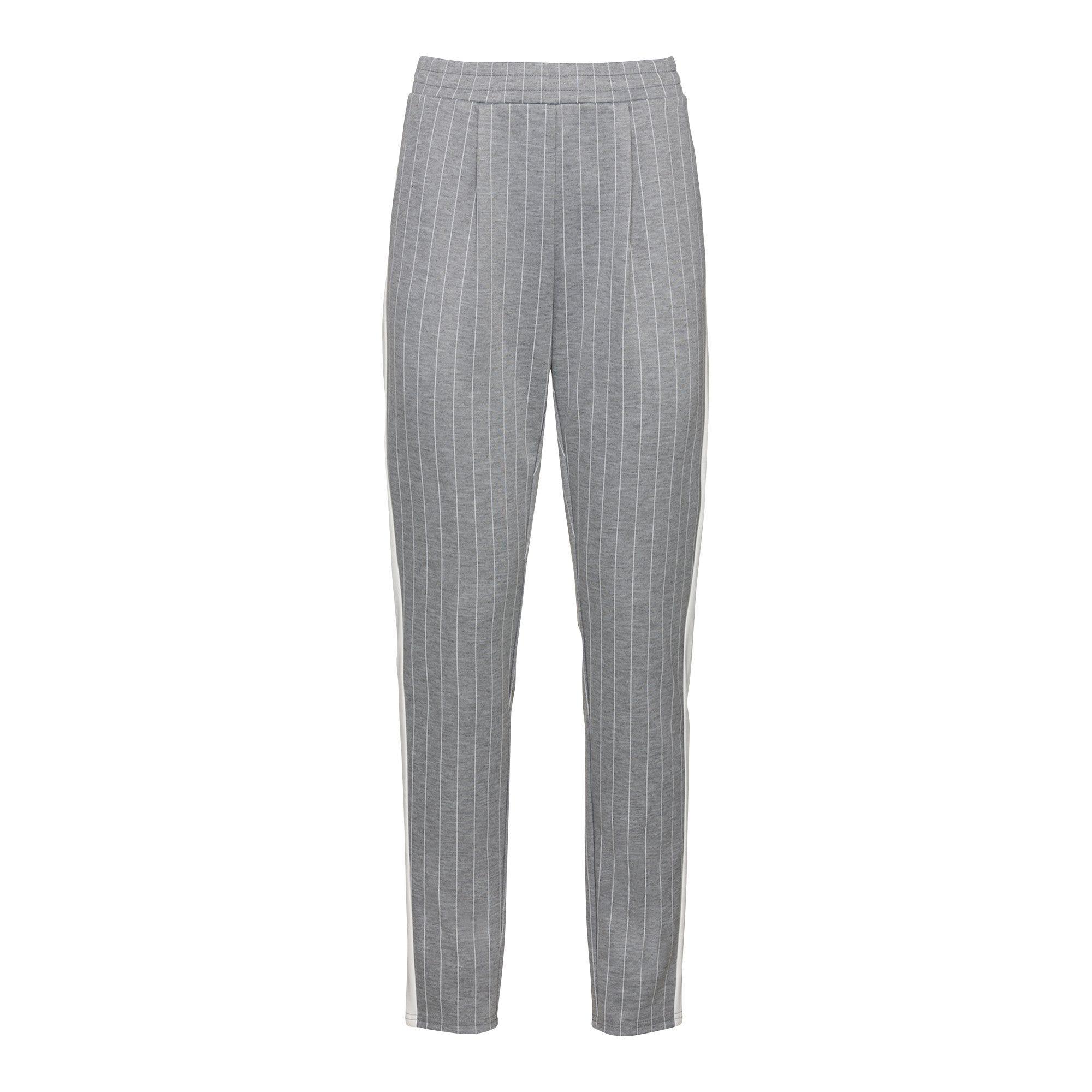Damen Joggpants mit Kontrast Streifen