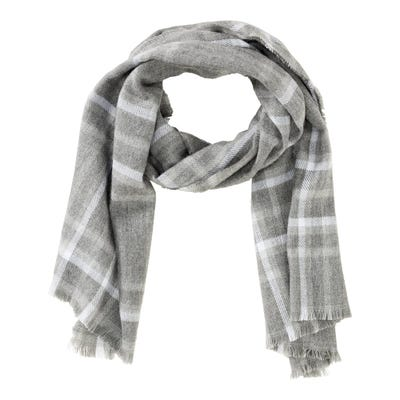 Damen-Schal mit kleinen Zierfransen, verschiedene Designs