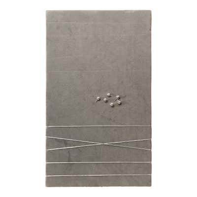 Memoboard mit weicher Oberfläche, ca. 30x50x2cm