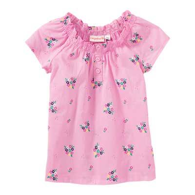 Baby-Mädchen-Bluse mit Blümchen-Muster