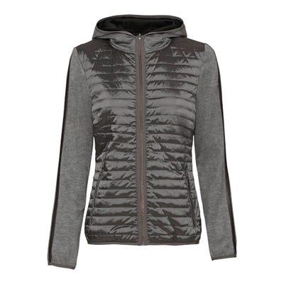 Damen-Jacke mit Stepp-Einsatz