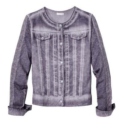 Damen-Jacke im coolen Jeans-Stil
