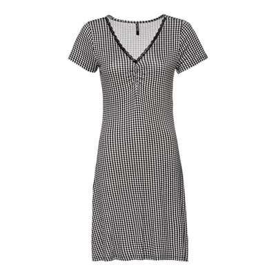 Damen-Kleid mit trendigem Muster