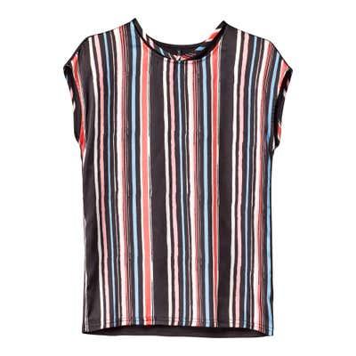 Damen-T-Shirt mit trendigen Streifen
