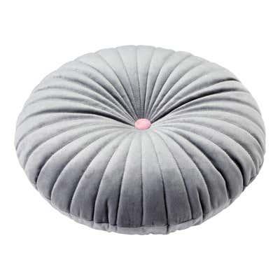 Kissen mit trendiger Steppung, Ø ca. 40cm