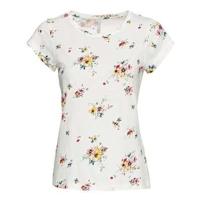 Damen-T-Shirt mit stylishem Muster