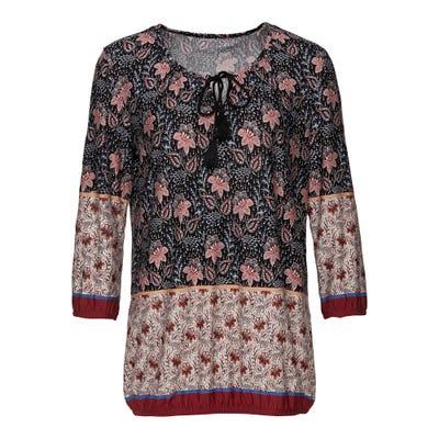 Damen-Shirt mit edlem Muster