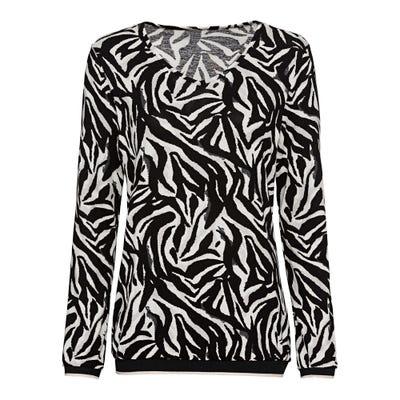 Damen-Shirt mit glitzernden Bündchen