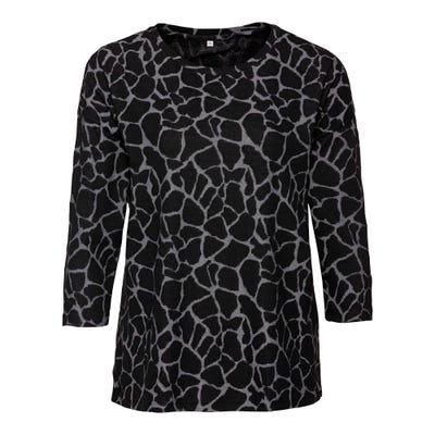 Damen-Sweatshirt mi Jacquard-Muster