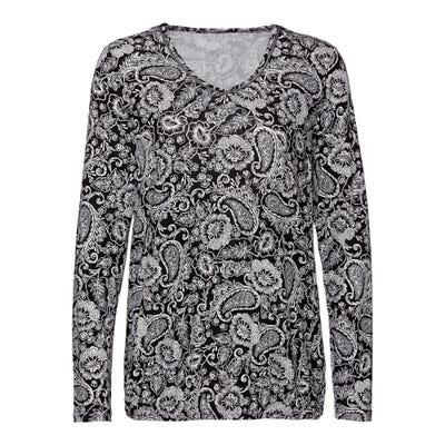 Damen-Shirt mit Paisley-Muster