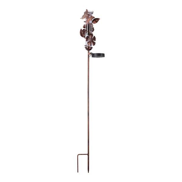 Gartenstecker mit Niederschlagsmesser, ca. 12x8x90cm