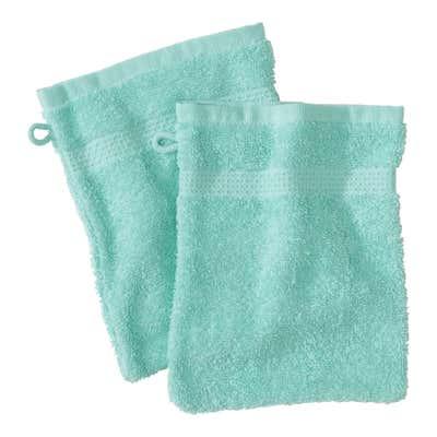 Waschhandschuh in verschiedenen tollen Farben, ca. 16x21cm