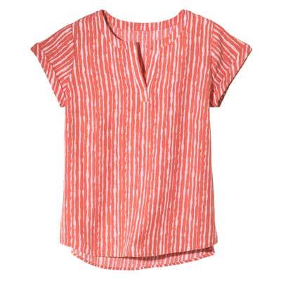 Damen-Bluse mit Streifenmuster