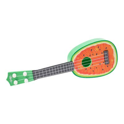 Happy People Ukulele in sommerlichem Frucht-Design, ca. 37cm