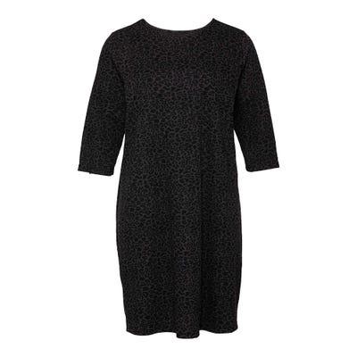 Damen-Kleid mit Leo-Muster, große Größen
