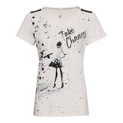 Damen-T-Shirt mit traumhaftem Frontaufdruck